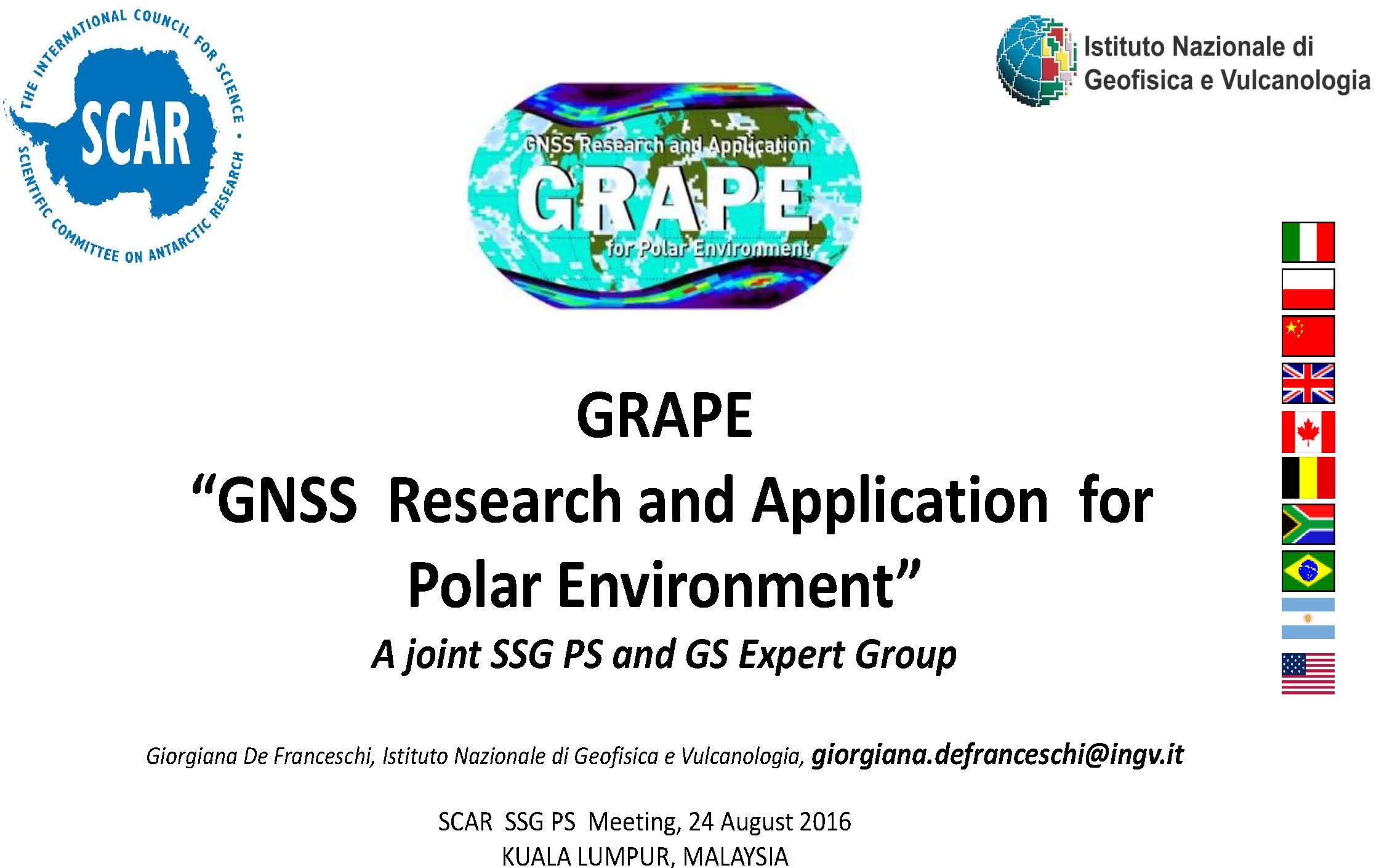 Presentation to SSG_PS